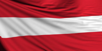 Austrian Flag, Austria Background
