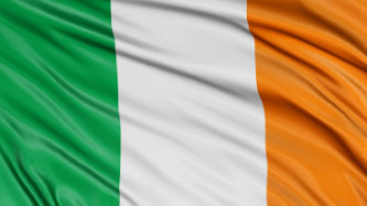 3D Irish flag