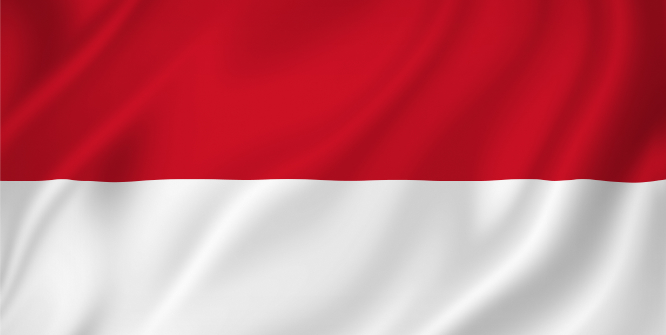 Indonesia national flag